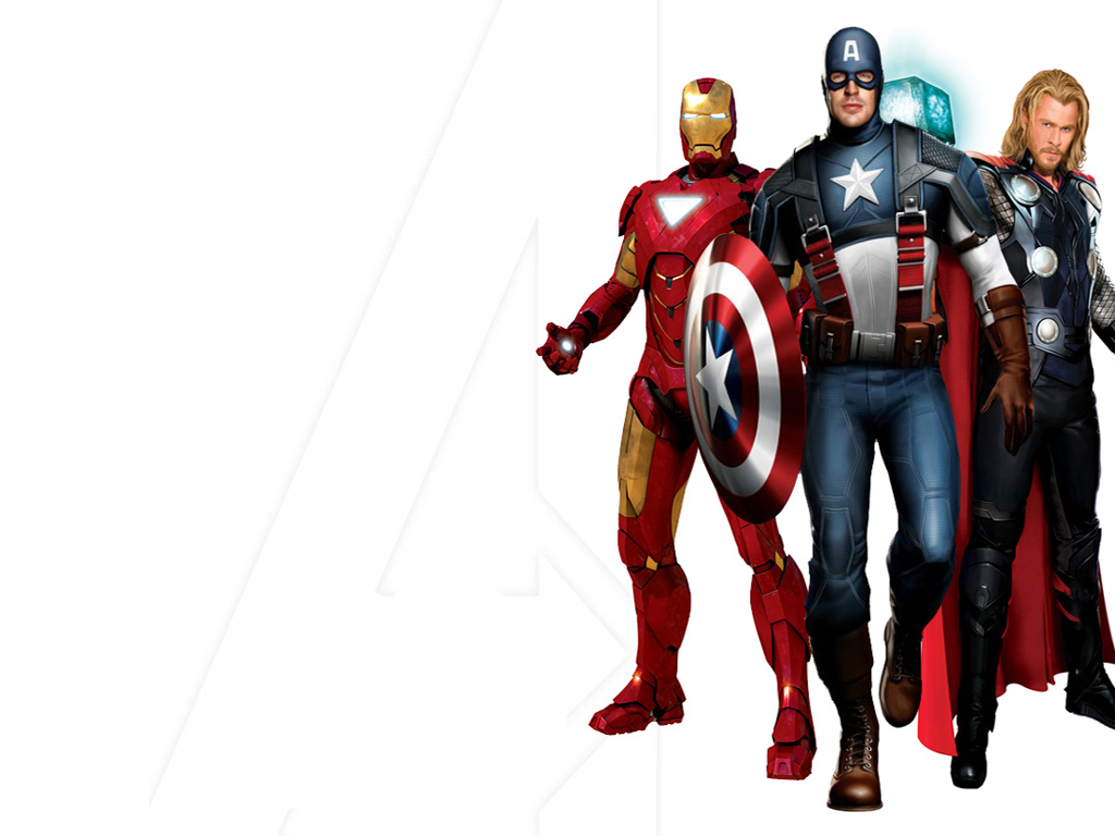 Free Download 3D Avengers PowerPoint Backgrounds and Templates - PPT