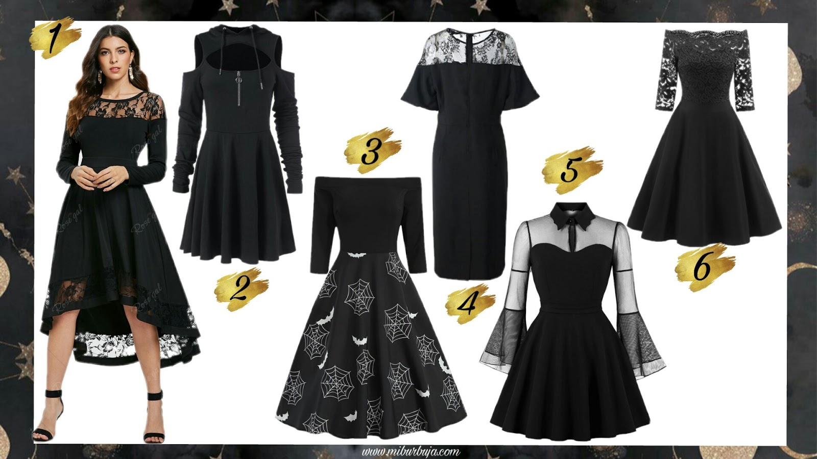 Little black dress wishlist