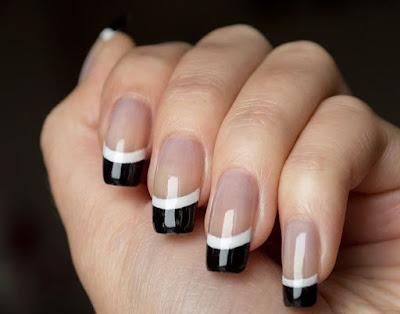 Diseño de uñas FRANCESAS que estan de moda
