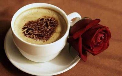 O cafea cu dragoste!