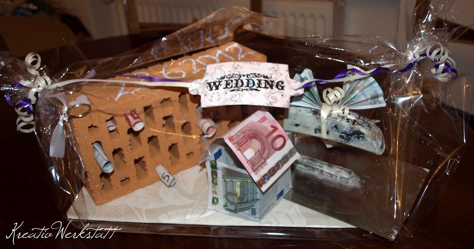 Unsere KreativWerkstatt Hochzeitsgeschenke