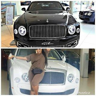 Linda Ikeji's Bentley Mulsanne not latest model as claimed