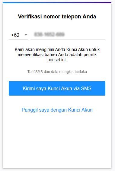 Verifikasi no hanphone pada saat pembuatan akun email yahoo