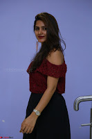 Pavani Gangireddy in Cute Black Skirt Maroon Top at 9 Movie Teaser Launch 5th May 2017  Exclusive 011.JPG