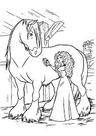 Beautyful Princes And Horse Coloring Pages Ideas