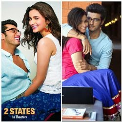 Arjun Kapoor, Alia Bhatt film 2 States is very good business of box office