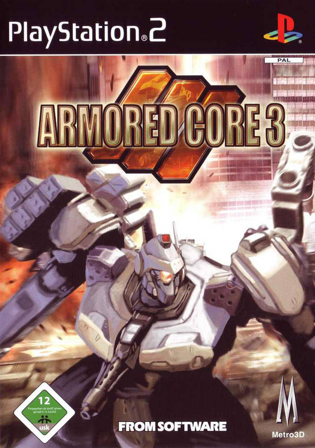 Armored Core 3 PAL PS2
