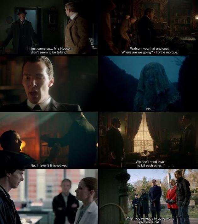 Sherlock The Abominable Bride 2016 English 480p HDTV 250mb ESubs