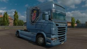 Scania RJL Custom Vabis V8 Skin