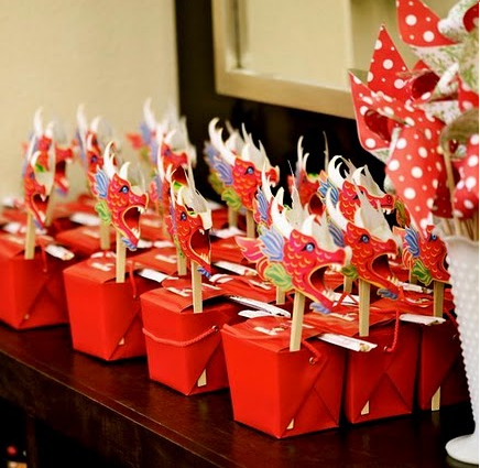 Party Frosting: Asian ideas/inspiration