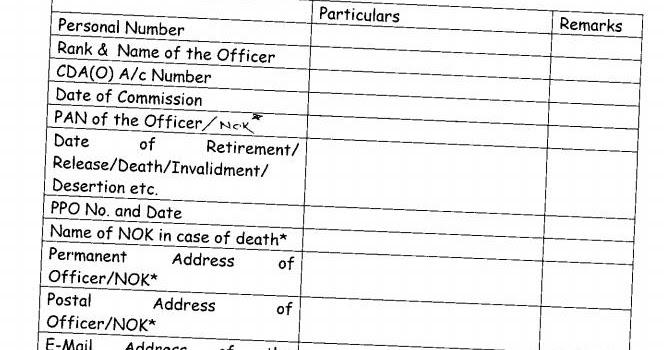 Report My Signal- Blog: Rank Pay: CDA (O) Pune Claim