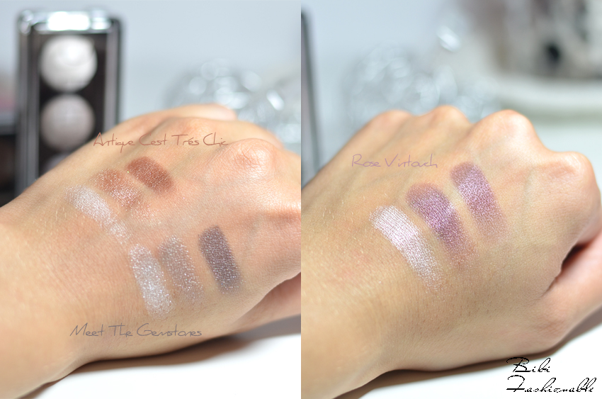 Catrice Deluxe Trio Eyeshadow Swatches