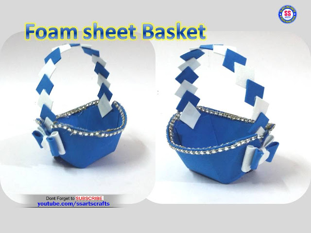 Here is Foam crafts,How to make Foam basket at home,foam easter basket for kids,foam craft ideas for adults,foam sheet crafts ideas,foam sheet craft projects,craft ideas using foam sheets,foam sheet craft work,foam crafts michaels,foam crafts for adults,funky foam craft ideas,how to make foam basket in easy way,how to make plastic bottle and foam basket in easy way,how to make basket using Foam ssartscrafts nanduri lakshmi youtube channel videos