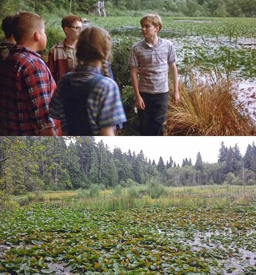 Then Amp Now Movie Locations It 1990