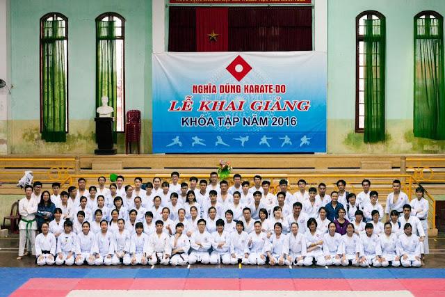 CLB Karate Đại Học Y Dược Huế