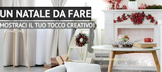Logo Crea il tuo Natale e vinci gratis buoni spesa da 100 euro