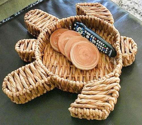 Sea Turtle Basket Tray