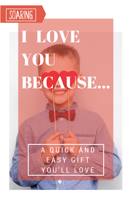 A quick and easy DIY gift for Valentine's Day, Mother's Day, or even Father's Day! Printables included!