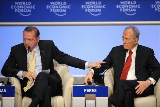 Erdogan Pernah Permalukan Presiden Israel Simon Peres di Forum Dunia