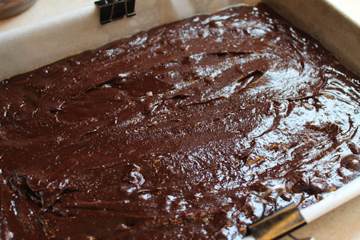 Brownies Ready for the Oven
