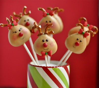Reindeer Cake Pop Tutorial