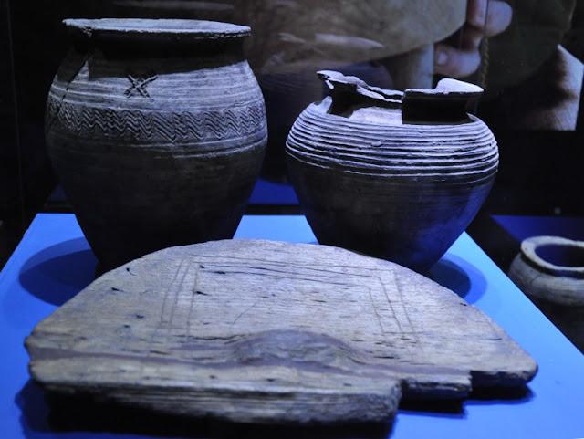 MPP na Lednicy - koło garncerskie oraz ceramika