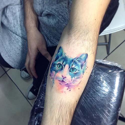 kedi dövmeleri cat tattoos 53