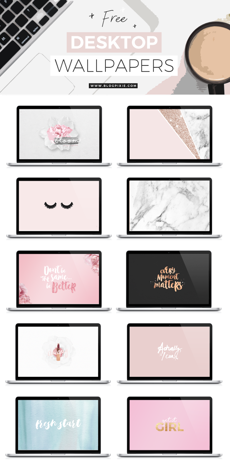 free freebies wallpapers desktop backgrounds downloadables pretty 2017