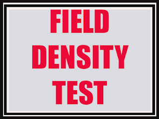 Field Density Test ASTM D 1556 Density of Soil In-Place by the Sand Cone Method Field Density Test FDT TEST