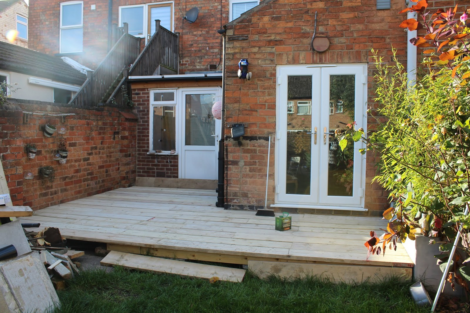 Used Scaffold Board Decking