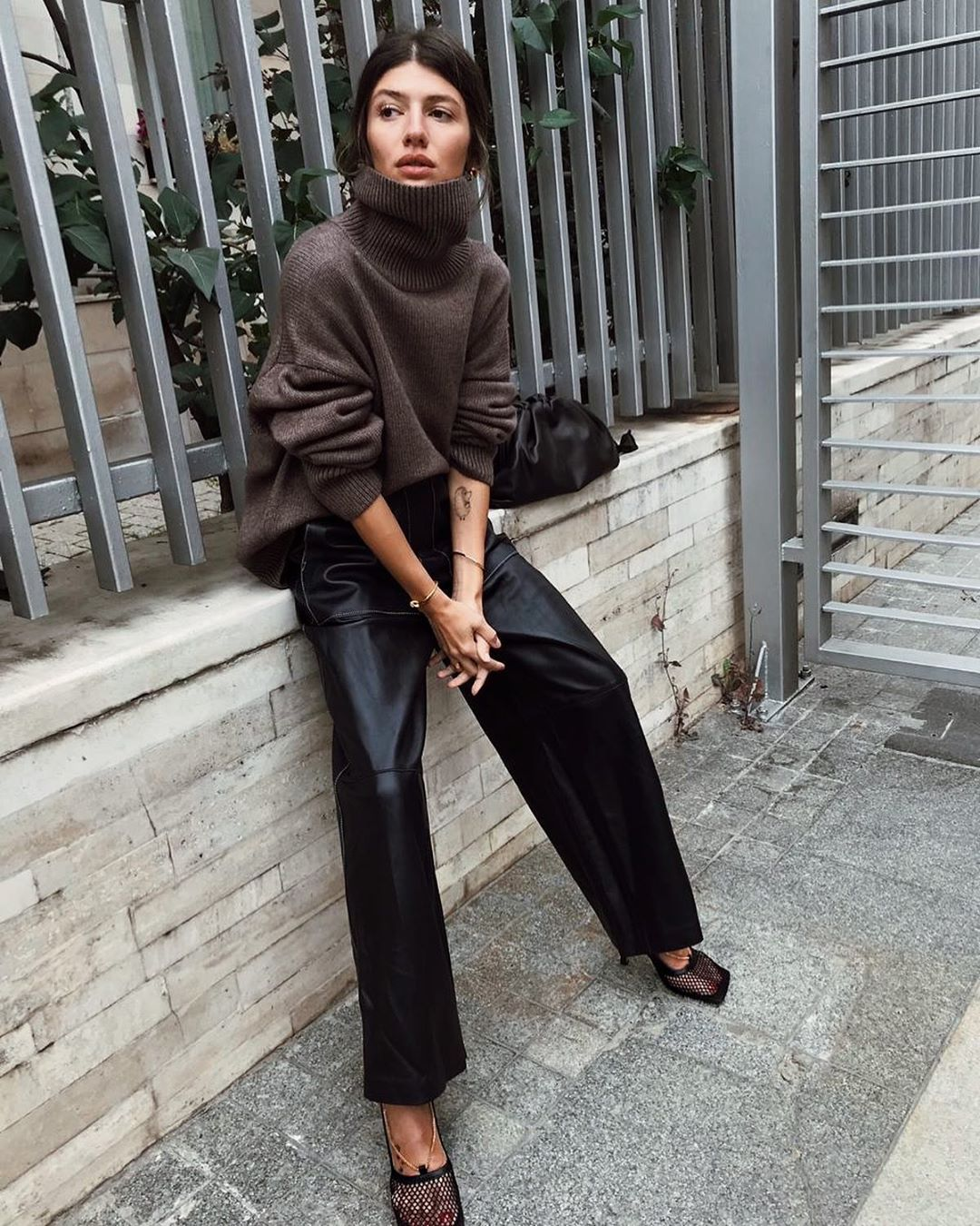 An Edgy Way to Refresh Your Favorite Turtleneck
