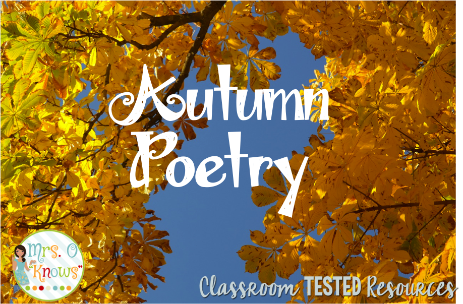 Autumn Poetry | Classroom Tested Resources