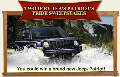You could win a brand new Jeep Patriot!