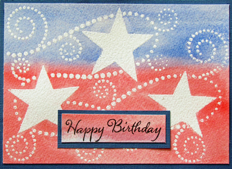 Remembering Life's Moments: Happy Fourth of July-- A Red ...