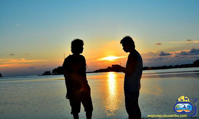 menikmati keindahan panorama pulau harapan kepulauan seribu utara