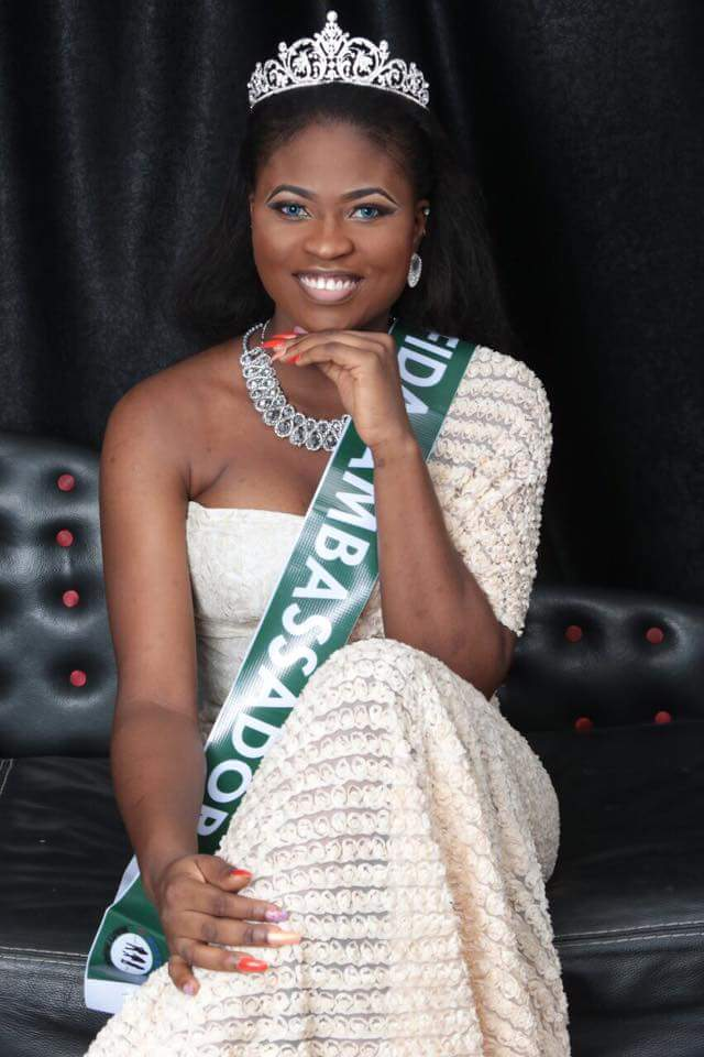 Beauty Queen Freda reaches Nigerians on Easter