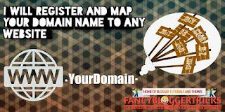Register a top level custom domain name