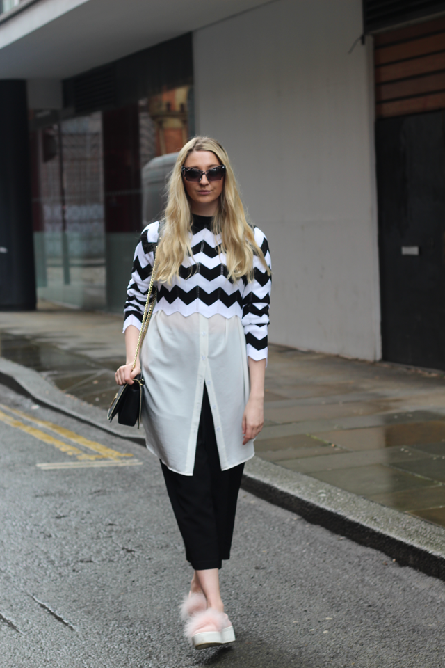 how to wear monochrome uk fashion blog