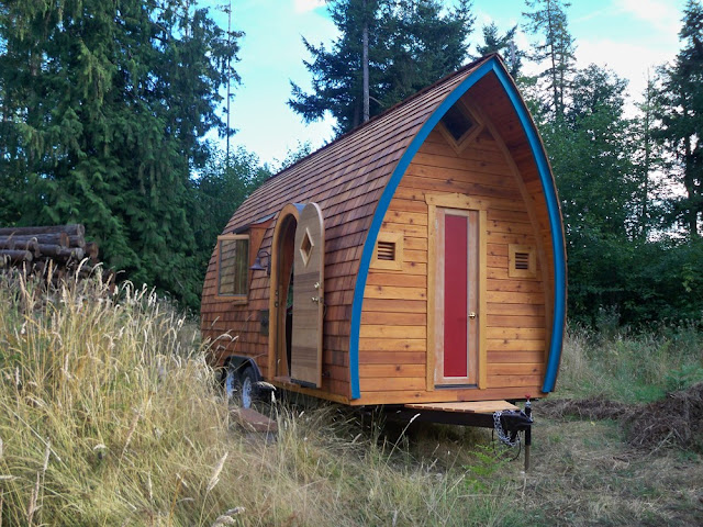 Fortune Cookie tiny house by Zyl Vardos