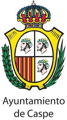 tres de dichas cabezas en el que sería escudo de la villa caspolina