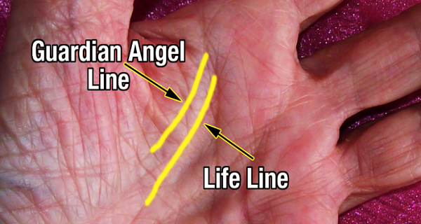 A Very Small Percentage Of People Have The Guardian Angel Line On Their Palm. THIS Is What It Means