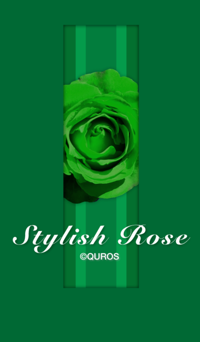Stylish Rose (green ver.)