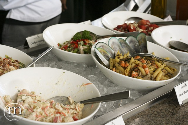 Entrée Salads, Pasta Salads, and Fruit Salads