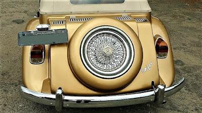 Os MPs fabricados em 1974 e 1975 possuíam lanternas traseiras iguais ao do VW Sedan - Fusca.