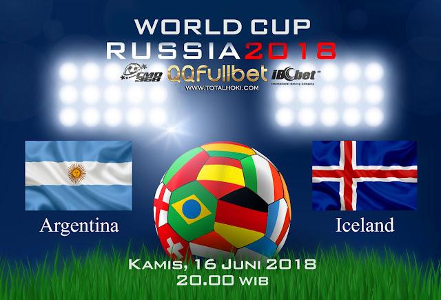 BOLA88 - PREDIKSI TARUHAN BOLA PIALA DUNIA : ARGENTINA VS ISLANDIA ( RUSSIA WORLD CUP 2018 )