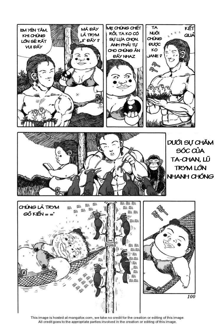 Chúa rừng Ta-chan chapter 13 trang 5