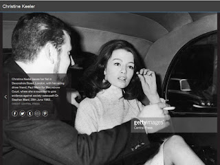 christine keeler, paul mann, stephen ward, profumo affair, wimpole muse,