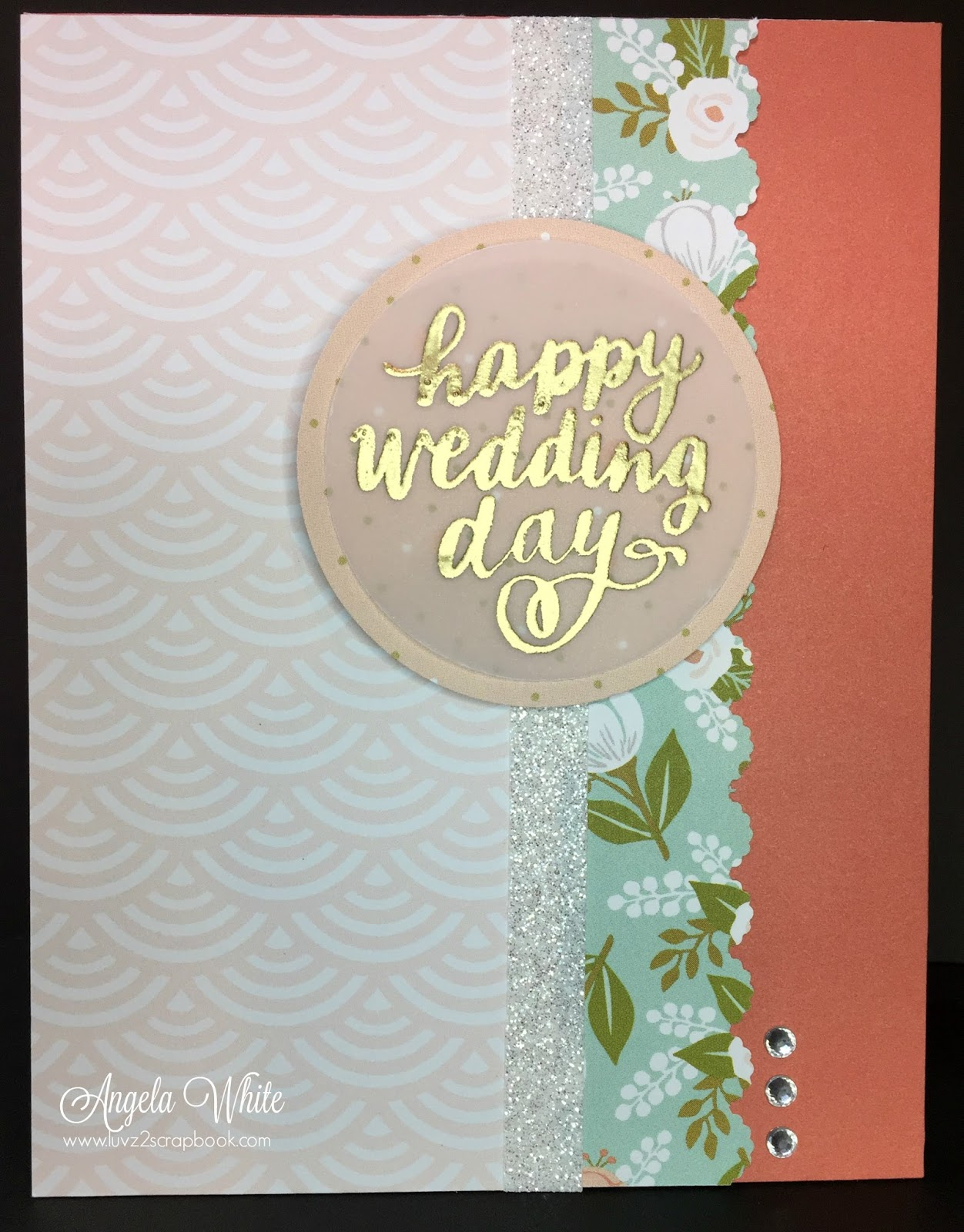 Weddings Are Big In Next Few Months So I Thought A Hello Lovely Wedding Card Would Be Great To Create