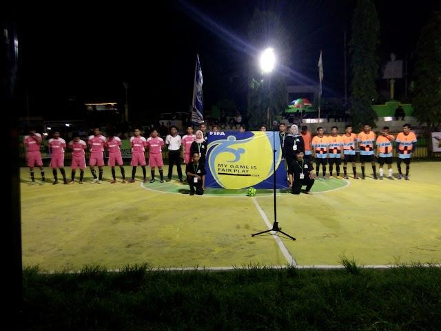 48 Tim Ramaikan Turnamen Futsal Tani Mulia Cup I