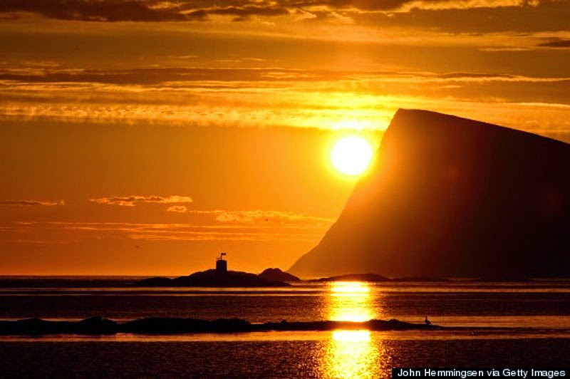 6. The Midnight Sun - 10 Reasons Norway is the Greatest Place on Earth
